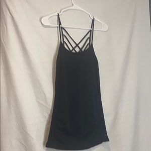 Spandex black camisole